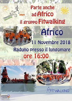 Gruppo fitwalking di Africo