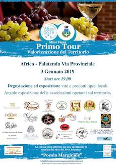 Primo Tour mini fiera Africo